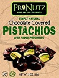 784672903424 Milk Chocolate Covered Pistachios with Added Probiotics