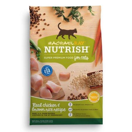 790029 6 lbs Rachael Ray Nutrish Dry Cat Food, Chicken & Brown Rice Recipe