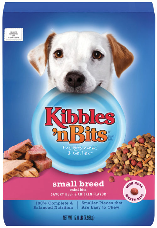 79100-51447 17.6 Lbs Beef & Chicken Small Breed Mini Bites