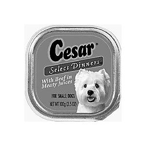 798128 Cesar Cuisine Chicken-Liver 24-3.5 Oz. Pack of 24