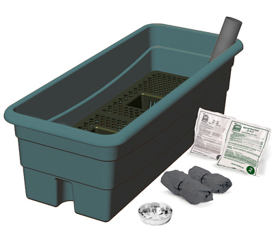 80651 Earthbox Junior Organic Garden Kit, Green