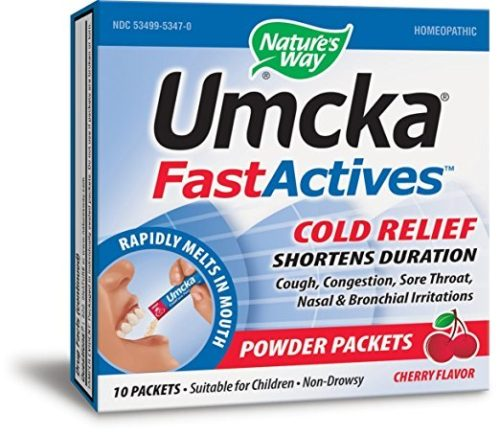 806885 Cherry Umcka Fast Act Cold, 10 Count