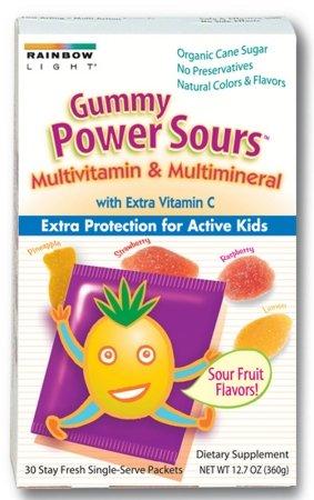 81645 Gummy Power Sours Multi Vitamin