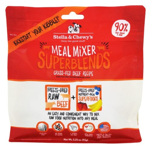 84000755 Freeze Dried Superblends Meal Mixer Beef, 3.25 oz