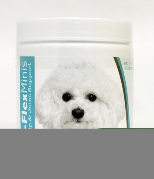 840235102670 Bichon Frise Z-Flex Minis Hip & Joint Support Soft Chews - 60 Count