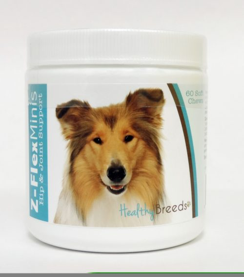 840235105107 Collie Z-Flex Minis Hip & Joint Support Soft Chews, 60 Count