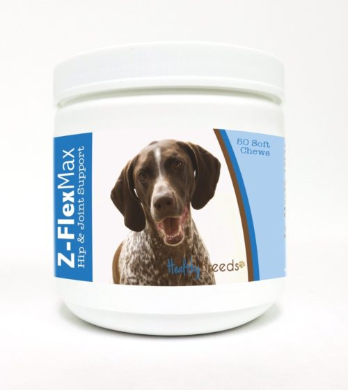840235108511 German Shorthaired Pointer Z-Flex Max Hip & Joint Soft Chews - 50 Count