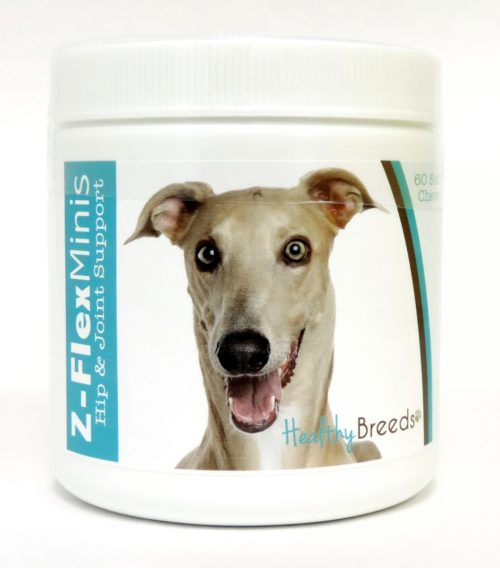 840235109136 Italian Greyhound Z-Flex Minis Hip & Joint Support Soft Chews - 60 Count