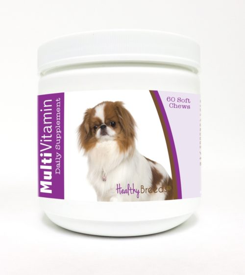 840235109402 Japanese Chin Multi-Vitamin Soft Chews - 60 Count