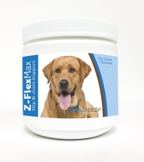 840235109747 Labrador Retriever Z-Flex Max Hip & Joint Soft Chews - 50 Count