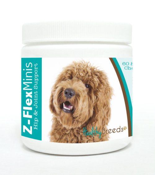 840235110422 Labradoodle Z-Flex Minis Hip & Joint Support Soft Chews - 60 Count