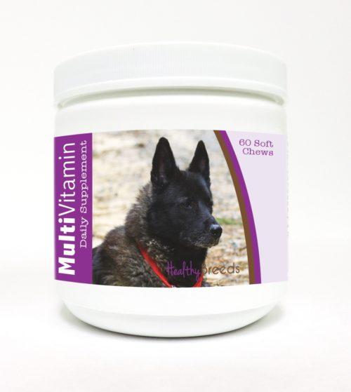840235111566 Norwegian Elkhound Multi-Vitamin Soft Chews - 60 Count