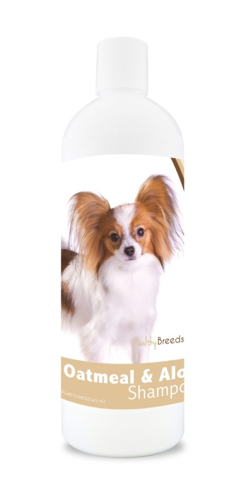 840235111887 16 oz Papillon Oatmeal Shampoo with Aloe