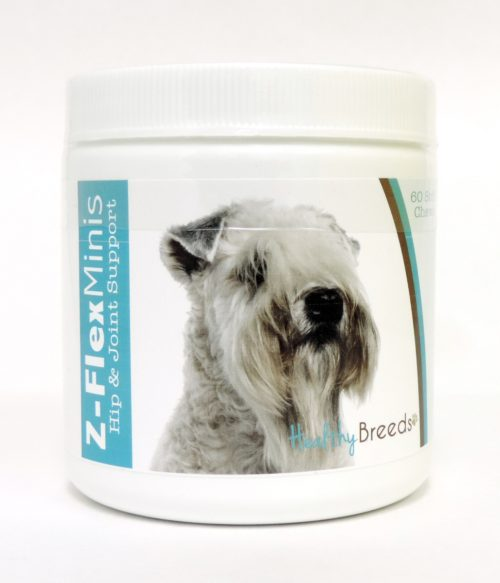 840235114055 Soft Coated Wheaten Terrier Z-Flex Minis Hip & Joint Support Soft Chews - 60 Count