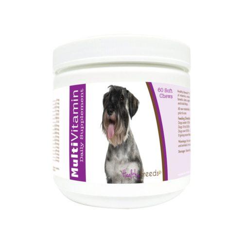 840235114963 Standard Schnauzer Multi-Vitamin Soft Chews - 60 Count