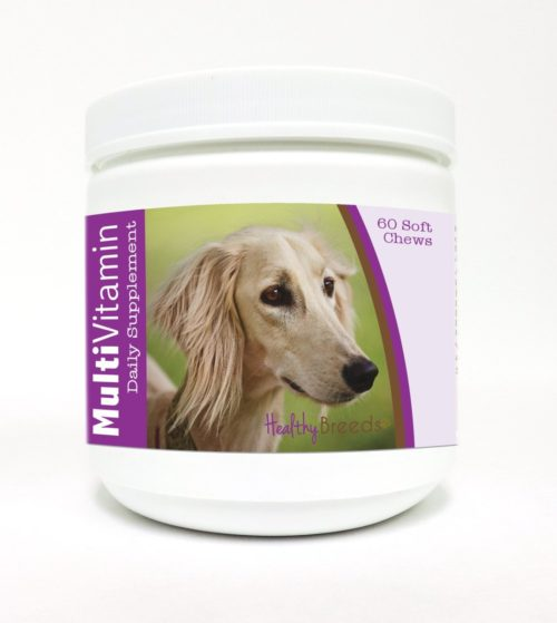 840235118060 Saluki Multi-Vitamin Soft Chews - 60 Count