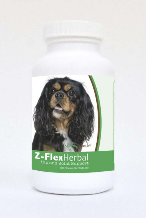 840235119692 Cavalier King Charles Spaniel Natural Joint Support Chewable Tablets - 60 Count