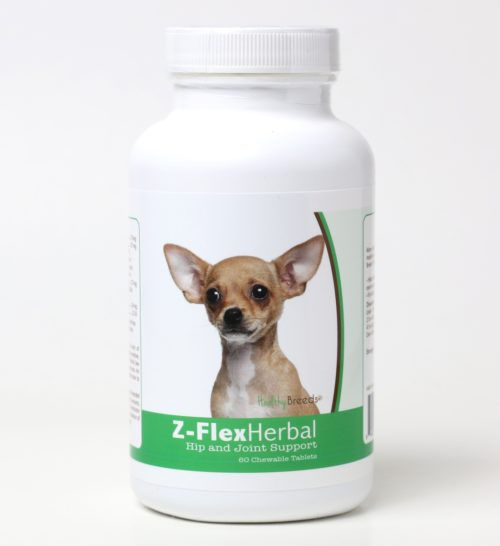 840235119777 Chihuahua Natural Joint Support Chewable Tablets - 60 Count