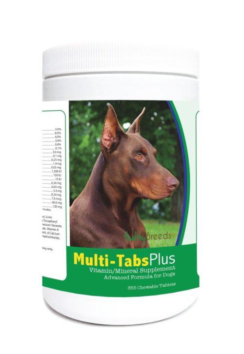 840235121886 Doberman Pinscher Multi-Tabs Plus Chewable Tablets - 365 Count