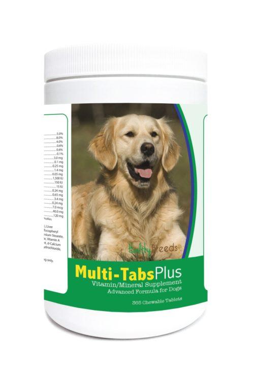 840235121992 Golden Retriever Multi-Tabs Plus Chewable Tablets - 365 Count