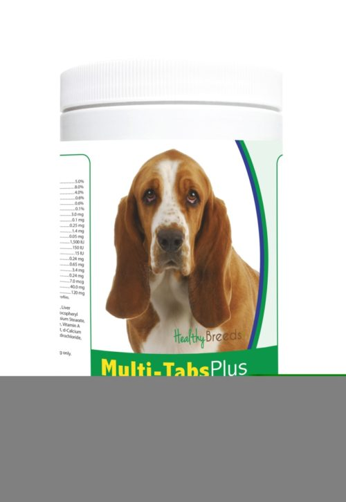 840235122029 Basset Hound Multi-Tabs Plus Chewable Tablets - 365 Count