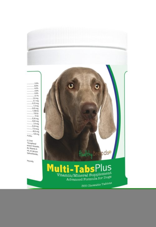 840235122043 Weimaraner Multi-Tabs Plus Chewable Tablets - 365 Count