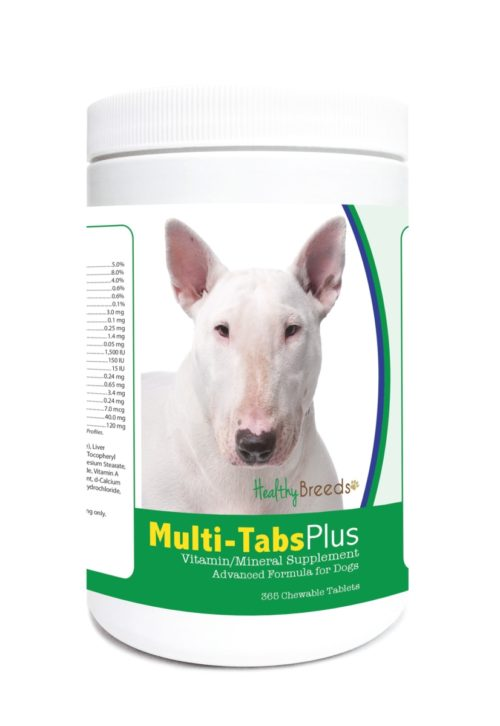 840235122623 Bull Terrier Multi-Tabs Plus Chewable Tablets - 365 Count