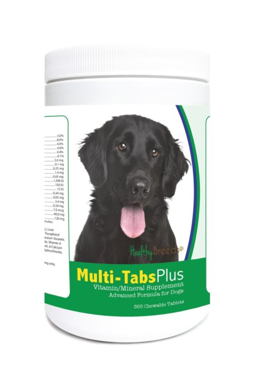 840235122722 Flat Coated Retriever Multi-Tabs Plus Chewable Tablets - 365 Count