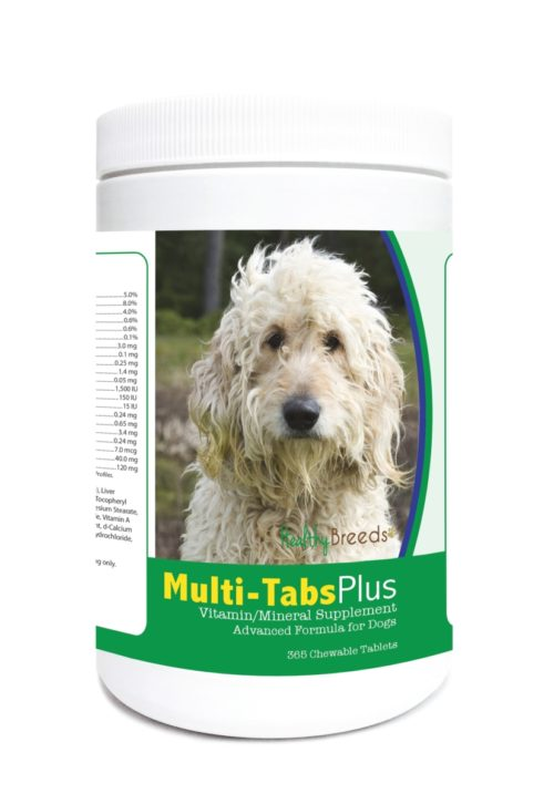 840235122913 Goldendoodle Multi-Tabs Plus Chewable Tablets - 365 Count