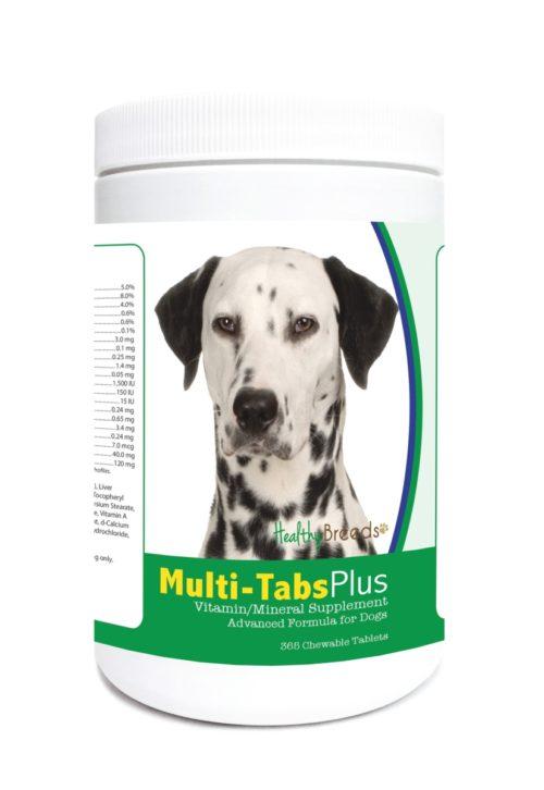 840235122975 Dalmatian Multi-Tabs Plus Chewable Tablets - 365 Count