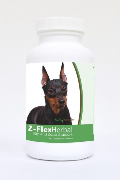 840235123156 Miniature Pinscher Natural Joint Support Chewable Tablets - 60 Count