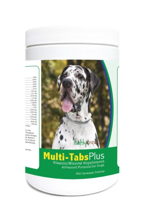 840235123378 Great Dane Multi-Tabs Plus Chewable Tablets - 365 Count