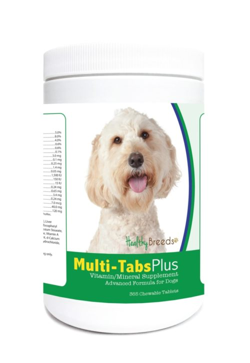 840235123569 Labradoodle Multi-Tabs Plus Chewable Tablets - 365 Count