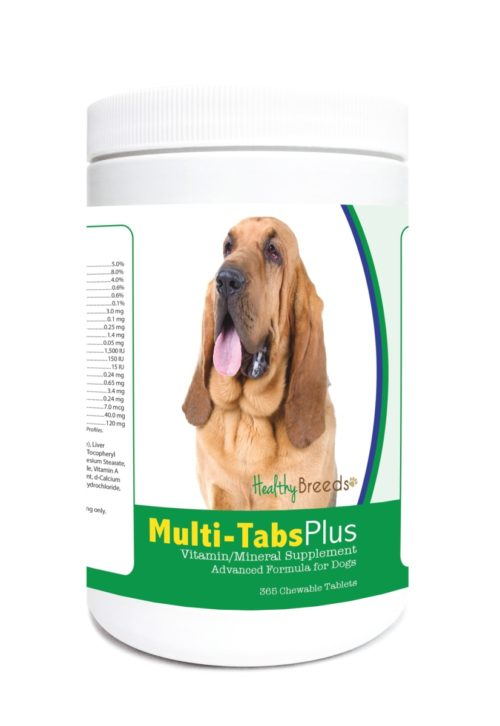 840235123590 Bloodhound Multi-Tabs Plus Chewable Tablets - 365 Count