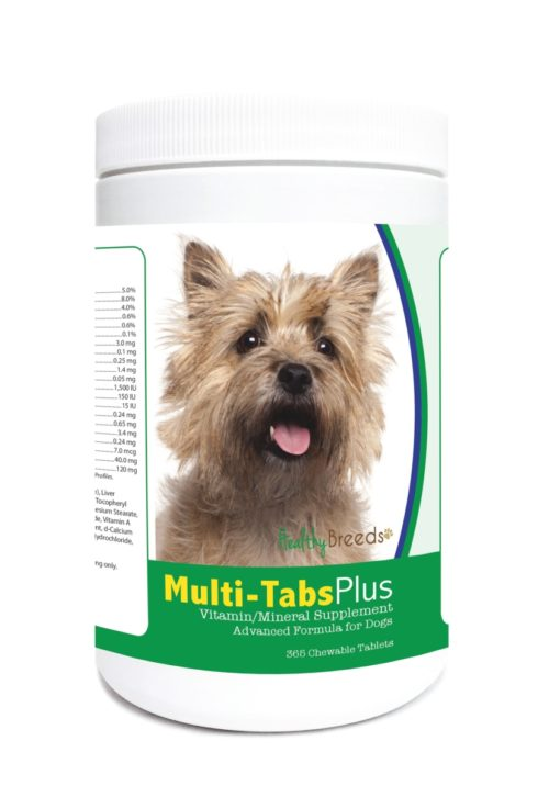 840235123637 Cairn Multi-Tabs Plus Chewable Tablets - 365 Count
