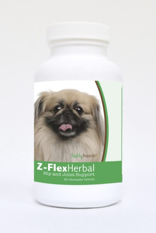840235123804 Pekingese Natural Joint Support Chewable Tablets - 60 Count