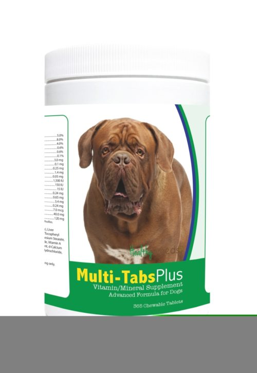 840235123927 Dogue de Bordeaux Multi-Tabs Plus Chewable Tablets - 365 Count