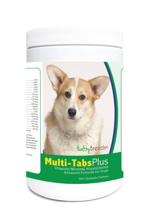 840235124016 Cardigan Welsh Corgi Multi-Tabs Plus Chewable Tablets - 365 Count