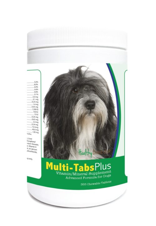 840235124047 Lhasa Apso Multi-Tabs Plus Chewable Tablets - 365 Count