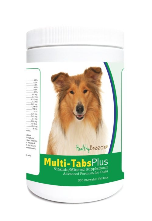 840235124108 Collie Multi-Tabs Plus Chewable Tablets - 365 Count
