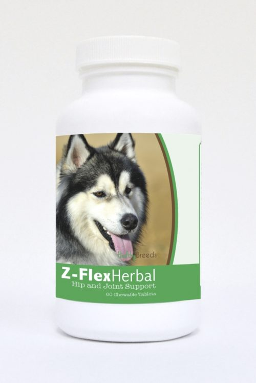 840235124931 Siberian Husky Natural Joint Support Chewable Tablets - 60 Count