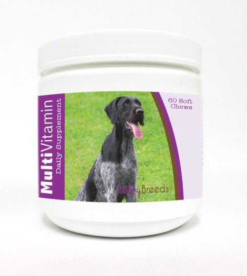 840235136170 German Wirehaired Pointer Multi-Vitamin Soft Chews - 60 Count