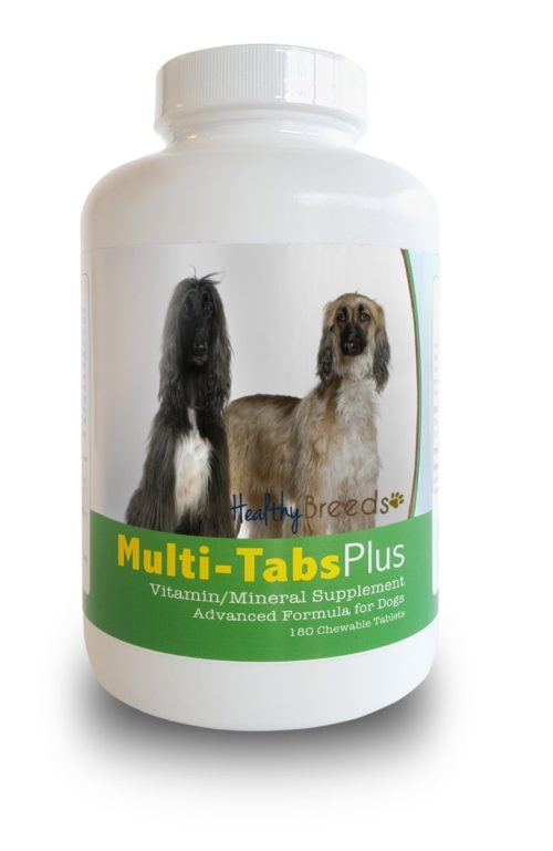 840235139683 Afghan Hound Multi-Tabs Plus Chewable Tablets - 180 Count
