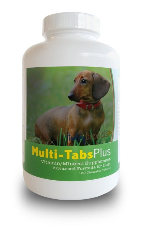 840235140061 Dachshund Multi-Tabs Plus Chewable Tablets - 180 Count
