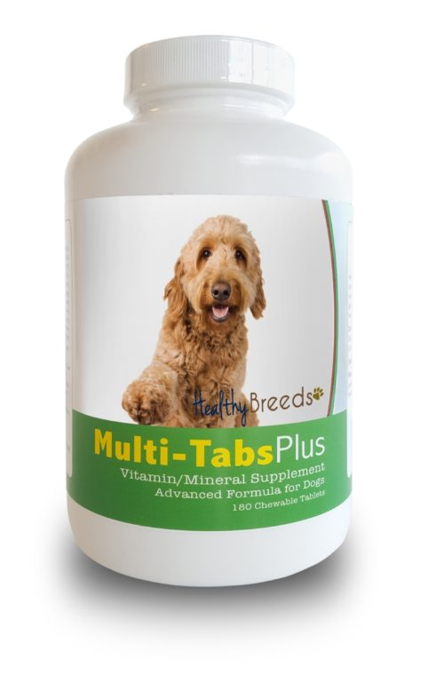 840235140214 Goldendoodle Multi-Tabs Plus Chewable Tablets - 180 Count