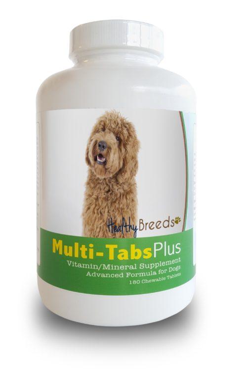 840235140429 Labradoodle Multi Vitamin Plus Chewable Tablets, 180 Count