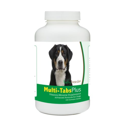 840235140825 Greater Swiss Mountain Dog Multi-Tabs Plus Chewable Tablets - 180 Count