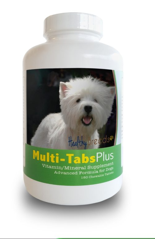 840235140894 West Highl & White Terrier Multi-Tabs Plus Chewable Tablets, 180 Count