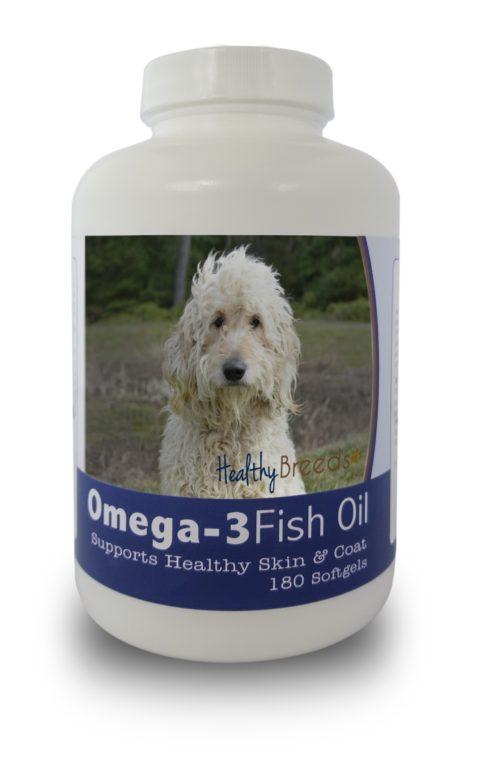 840235141426 Goldendoodle Omega-3 Fish Oil Softgels, 180 Count