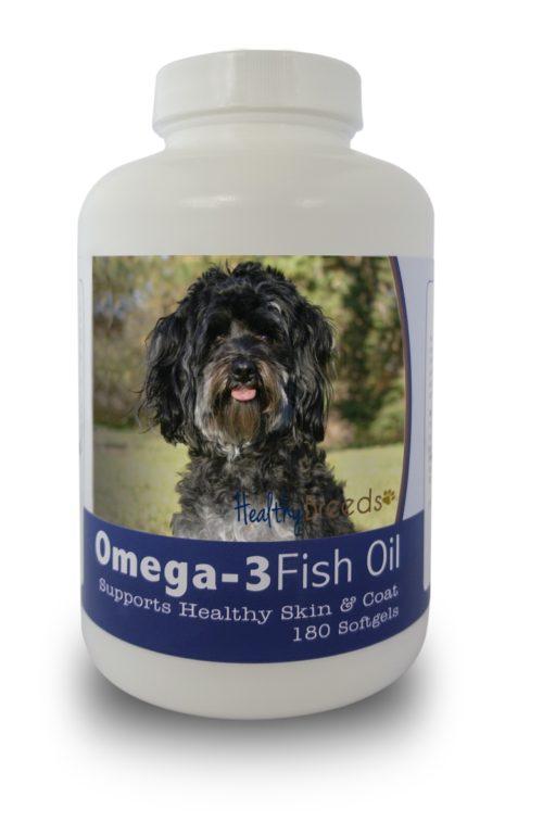 840235141709 Maltipoo Omega-3 Fish Oil Softgels, 180 Count